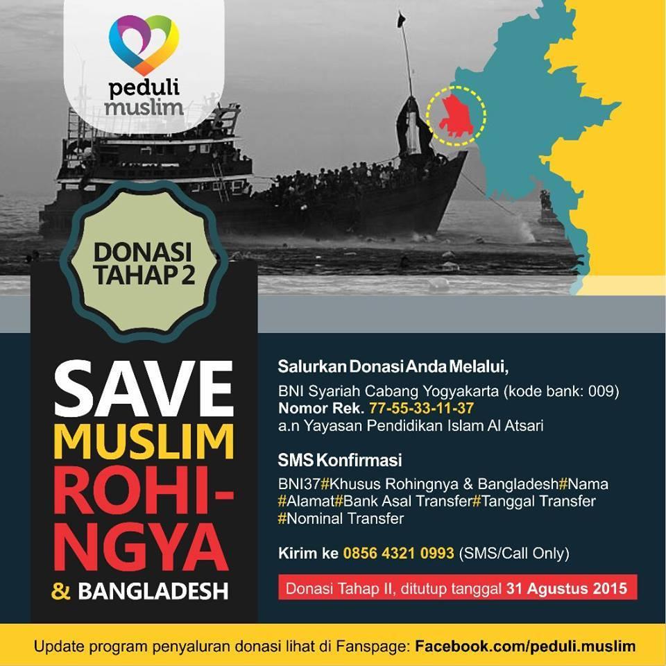 Program Bantuan Pengungsi Rohingnya Myanmar dan Bangladesh di Aceh Tahap II