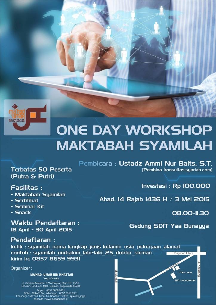 One Day Workshop Maktabah Syamilah